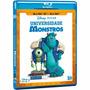 Blu-ray 3d Universidade Monstros Dublado Original