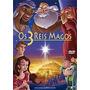 Dvd Os 3 Reis Magos Lindo Desenho Biblico Raridade