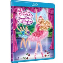 Barbie E As Sapatilhas Mágicas (blu-ray Lacrado)