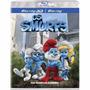 Blu Ray 3d Os Smurfs + Blu Ray + Um Conto De Natal Lacrado