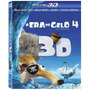Blu-ray A Era Do Gelo 4 - 3d + 2d + Dvd - Box Novo E Lacrado