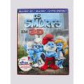 Frete Grátis - Blu-ray Smurfs 3d+2d+conto Natal C/ Luva Lent
