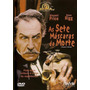 Dvd Original: As Sete Máscaras Da Morte - Vincent Price Raro