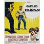 Dvd O Gatilho Relâmpago 1956 Dublado Com Glenn Ford