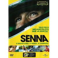 Dvd Senna O Brasileiro, O Herói, O Campeão. Original Lacrado