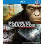 Filme Blu-ray - Planeta Dos Macacos - 2 Filmes - Lacrado