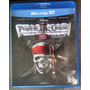 Blu-ray - Piratas Do Caribe 4 - 3d+2d - Duplo - Impecavel
