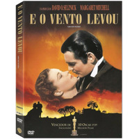 E O Vento Levou - Dvd - Original - Lacrado - Legendado, Raro