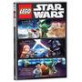 Lego Star Wars 3 Dvds A Ameaça De Padawan / O Imperio Detona