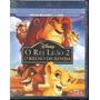 Blu-ray + Dvd (2 Mídias) - Rei Leão 2 - Novo, Lacrado