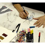 Moda Desenho De Croquis E Estilismo Em Video E Livros