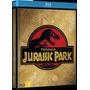 Jurassic Park - Trilogia - Blu Ray Triplo, Dub/leg, Lacrado