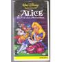 Vhs Alice No País Das Maravilhas (walt Disney) - Dublado