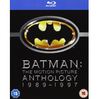 Blu-ray - Batman The Motion Picture Anthology (raridade)