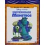 Blu-ray Universidade Monstros 2d + 3d Original Br 2 Discos
