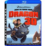 Blu-ray 3d Dragon Como Treinar O Seu Dragão - Original