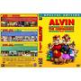 Coleção Exclusiva Alvin E Os Esquilos 1, 2 E 3 Dvds Dublados
