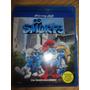 Blu Ray 2d+3d Smurfs C/ Luva Frete 8,00 Novo