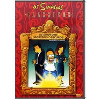 Dvd Os Simpsons - Segredos Obscuros - Original - Seminovo