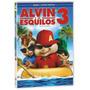 Dvd Alvin E Os Esquilos 3 100% Lacrado E Original