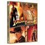 Box: Coleção Indiana Jones Em Dvd - 4 Filmes Novo Original