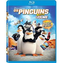 Bluray Original Seminovo - Os Pinguins De Madagascar O Filme