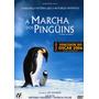Dvd A Marcha Dos Pinguins - Original - Novo - Lacrado