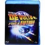 Box Blu-ray Trilogia De Volta Para O Futuro - 3 Discos Novo