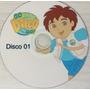 12 Dvds - Go Diego Go - Todos Episódios!!