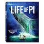 Aventuras De Pi, As - Blu Ray 3d + 2d + Dvd, C/luva