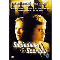 Dvd Sociedade Secreta Paul Walker Joshua Jackson Raro