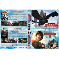 Coleção Como Treinar Seu Dragão 1 E 2 Com 2 Dvds Dublados