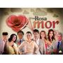 Box Dvds Novela Uma Rosa Com Amor (sbt) Completa Betty Faria