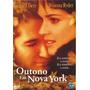 Dvd Outono Em Nova York - Original