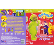 Dvd Teletubbies - Brincando Com As Figuras - Rarissimo