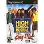 Jogo Disney High School Music Sing It Ps2 Lacrado,dri Vendas
