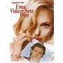 Dvd - Uma Vida Em Sete Dias - Angelina Jolie - Original Novo