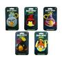 Coleção Com 5 Chaveiros De Pelúcia Angry Birds Space Toyng