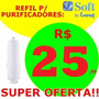 Refil Filtro Purificador Soft Slin Fit Baby Star Plus Flat