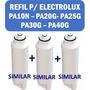 3 Refis Purificador Electrolux Pa10n Pa20g Pa25g Pa30g Pa40g