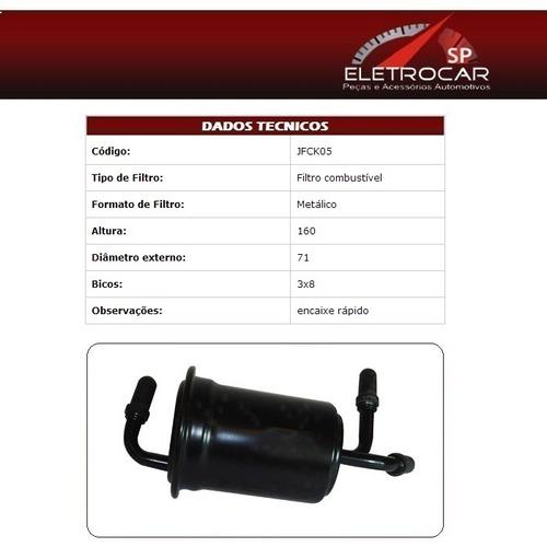 Filtro De Combustível Kia Sorento 2.5 16v Crdi Diesel 04 A 0