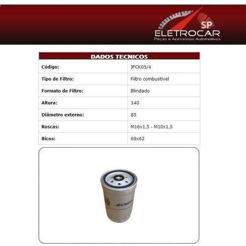 Filtro De Combustível Kia Sorento 2.5 16v Crdi Diesel 2008 E