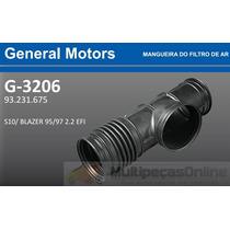 G3206 Mangueira Filtro Ar Gm S10 / Blazer 2.2 Efi 95/97