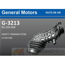 G3213 Mangueira Filtro Ar Gm Kadett / Ipanema 2.0 8v 97/98