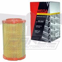 Filtro De Ar Blazer E S10 2.4 8v Gasolina E Flex - Wega