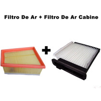 Filtro Ar + Filtro Ar Condicionado Livina 1.6 16v 2009/2013
