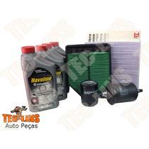 Kit Filtros/ar/ Oleo/combustivel/oleo/cabine New Civic1.8