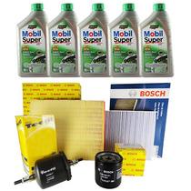 Kit Revisao Filtro Cabine Oleo Combustivel Astra 2004 2014
