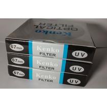 Filtro Uv Kenko Original P/ Lentes 67mm - Sx40 Sx50 E Outras