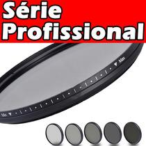 Filtro Fader Nd2-nd400 P/ Nikon D600 D750 D5100 D300s D7100